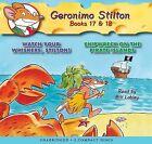 Geronimo Stilton, Books 17 & 18  : Watch Your Whiskers, Stilton! & Shipwreck on the Pirate Islands by Geronimo Stilton (CD-Audio, 2009)