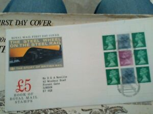 First day cover stamps  The Steel wheel vgc - Chelmsford, United Kingdom - First day cover stamps  The Steel wheel vgc - Chelmsford, United Kingdom