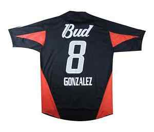 River Plate 2004-05 Authentic AWAY SHIRT GONZALES (eccellente) XL soccer jersey
