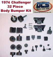 1974 Dodge Challenger & Rallye Body Bumper 32 piece Kit New MoPar