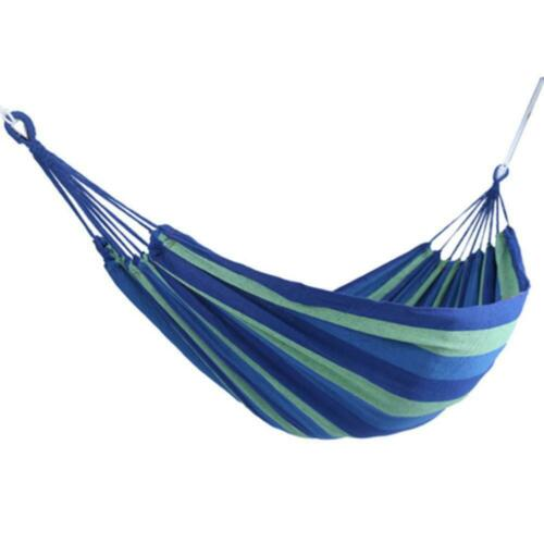 Hammock Bed Swing Hanging Sleeping Tent Outdoor Cotton Camping Hot Rop Good C2U3