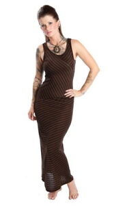 Perpetual-Vogue-Brown-Gold-Striped-Maxi-Dress-Resort-Casual-Dress-Vacation-Dress
