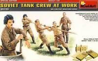 MiniArt Russ. Panzerbesatzung Soviet Tank Crew 1:35 Ammo Boxes Munition T-35-85