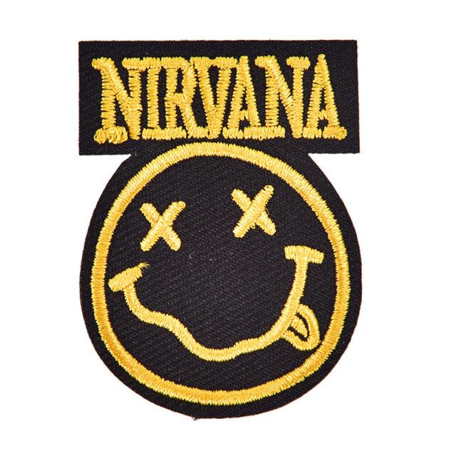 nirvana badge mend decorate patch jeans jackets bag clothes apparel appliqueSP