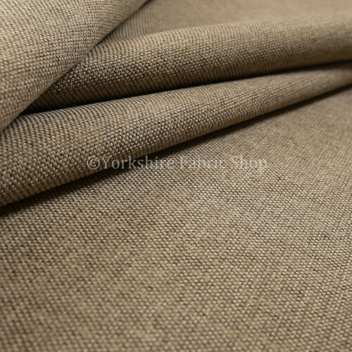 New Soft Textured Woven Brown Beige Mix Old Chenille Upholstery Cushions Fabrics