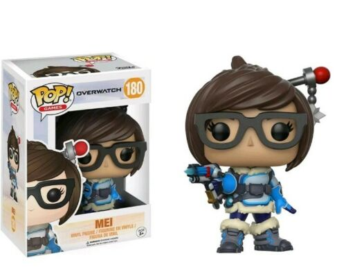Funko Overwatch Pop Mei Vinyl Figure NEW Toys Collection jeu vidéo