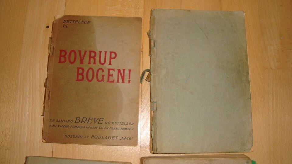 Bøger og blade, BOVRUP KARTOTEKET