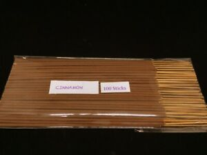 Cinnamon-Incense-Stick-Hand-Dipped-with-Natural-Essential-Oils-100sticks