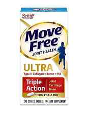 Move Free Ultra Triple Action Joint Supplement with Type II Collagen, Hyaluronic