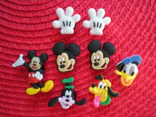 Clog Shoe Charm Plug Buttons Holey Sandal Jewelry Mickey Mouse Accessories