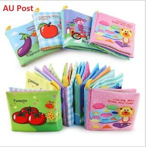 Children-book-Baby-Toddler-Infant-Interactive-Education-Soft-Cloth-Book