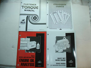 Mack Truck MP7 MP 7 Engine SERVICE MANUAL Repair Shop