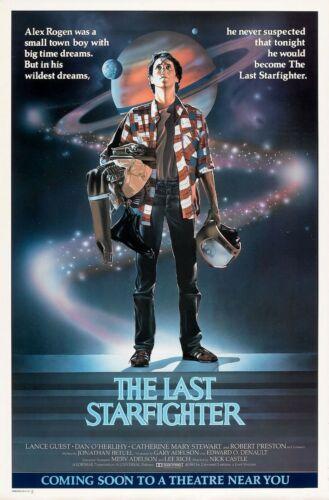 "THE LAST STARFIGHTER Movie Silk Fabric Poster 11/""x17/"" 24/""x36/""  Sci-Fi"