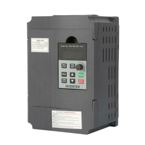 1-Phase VFD Frequenzumrichter Variable Frequency Drive Drehzahlregler 220V 1.5kW