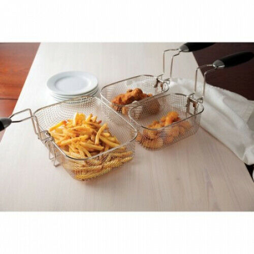 Farberware Home Electric Deep Fryer Countertop 4 L FAT Oil Stainless Fries NEW