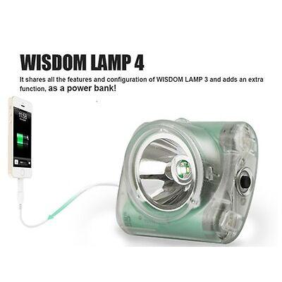 Wisdom lamp model 4 (4A) cap light w/accessories