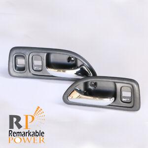 Car & Truck Interior Door Handles 2 Inside Door Handles Front or Rear Left or Right Driver or Passenger Gray