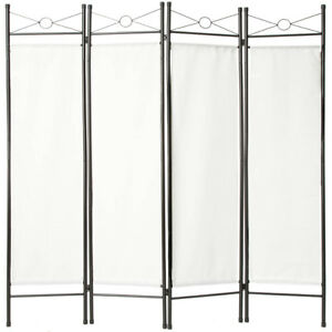 paravent interieur s parateur de pi ce fer forg pas cher 4 panneaux ebay. Black Bedroom Furniture Sets. Home Design Ideas