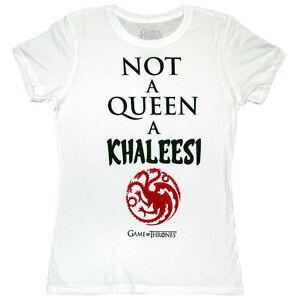 Ladies-Game-Of-Thrones-Khaleesi-T-Shirt-Mother-Dragons-Nights-Watch-White-Walker