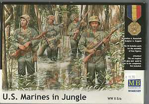 Master-Box-WWII-US-Marines-in-Jungle-Figures-in-1-35-89-ST-B1
