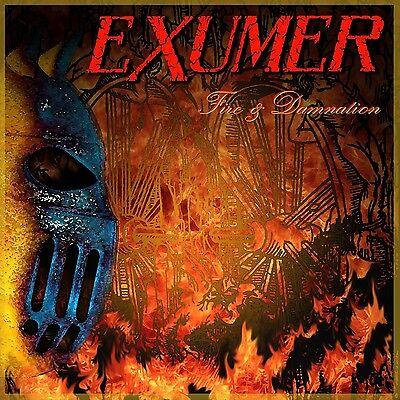 EXUMER FIRE & DAMNATION SEALED CD NEW