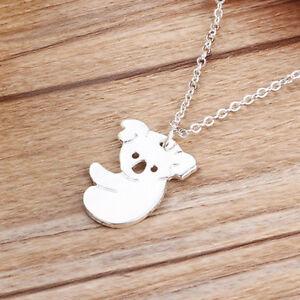 Necklace-Pendant-Fashion-Sweet-Alloy-Koala-Shape-For-Lady-Lovely-Jewelry-Gifts