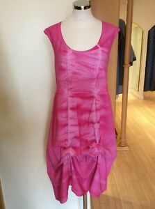 Avec Dye Rrp 14 Réglable Robe Bnwt Tie Ruching Taille Latte Rose cAgqv0SW