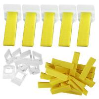 300pcs Plastic Tile Spacer Flooring Level Lippage Tile Leveling Spacer System Us