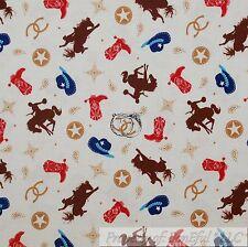 "Flannel Fabric 1//2 Yard Skiing Aspen Colorado Blue Background 39/"" Wide Cotton"
