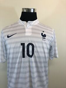 size 40 13472 aa7cb Details about Kylian Mbappe White Away France Kit Jersey SIZE LARGE L 2018  FIFA World Cup