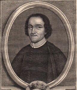 Portrait-XVIIIe-Joseph-De-La-Fontaine-Solare-De-La-Boissiere-Pretre-Oratoire