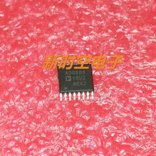 1 x ADG888YRUZ IC Analog Switch Dual DPDT 400mOhm 5.5V Automotive 16Pin TSSOP