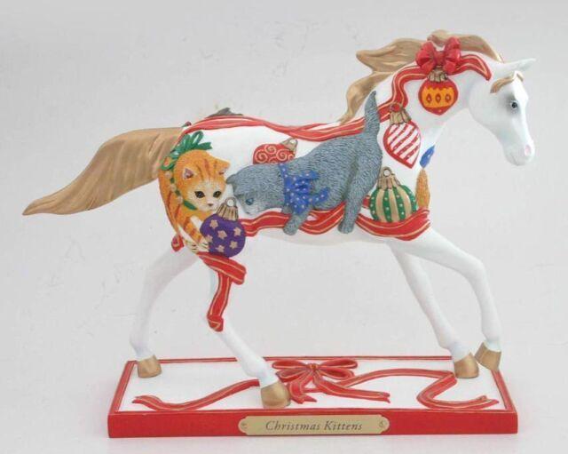 1E/1415 Painted Ponies: CHRISTMAS KITTENS Figurine  FREE SHIPPING NIB