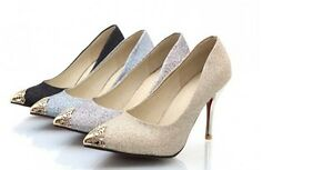 Zapatos Zapatos de salón mujer tacón de aguja 9 cm disponibles en 4 colores 8405