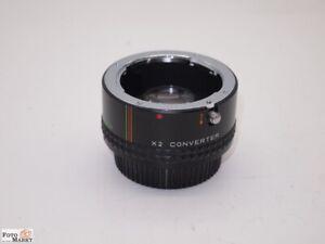Converter-2x-Makinon-Nr-1-fur-Pentax-K-PK-Bajonett-ab-50-mm-und-mehr-wie-neu