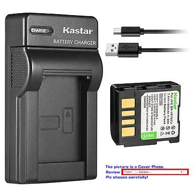 Battery Charger for JVC GR-D650E GR-D650EX GR-D650EZ MiniDV Camcorder GR-D650EY GR-D650EK