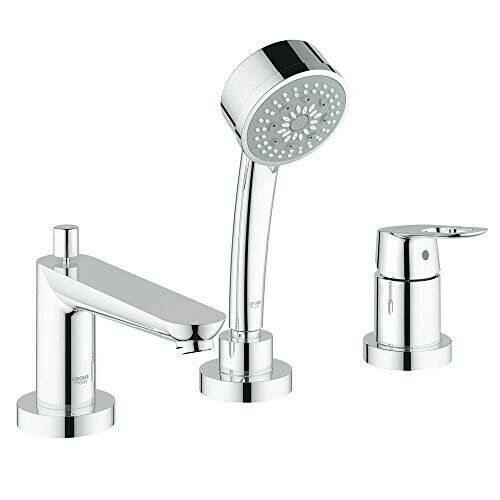Starlight Grohe K19411-35015R-000-2 Eurosmart Shower//Tub Faucet with Rough-in Chrome