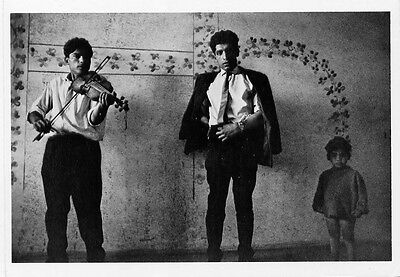 Czechoslovakia 1966•Photo by Josef Koudelka-Gypsy Violin Player•Photo Postcard