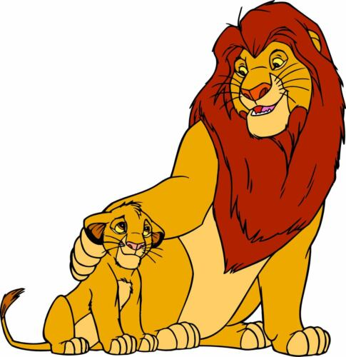 Adesivo Bambino il Re Leone Ref