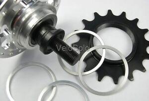 CNC-SPACER-KIT-for-Screw-on-FIXED-TRACK-COG-Freewheel-Cassette-Shimano-Hub-UK