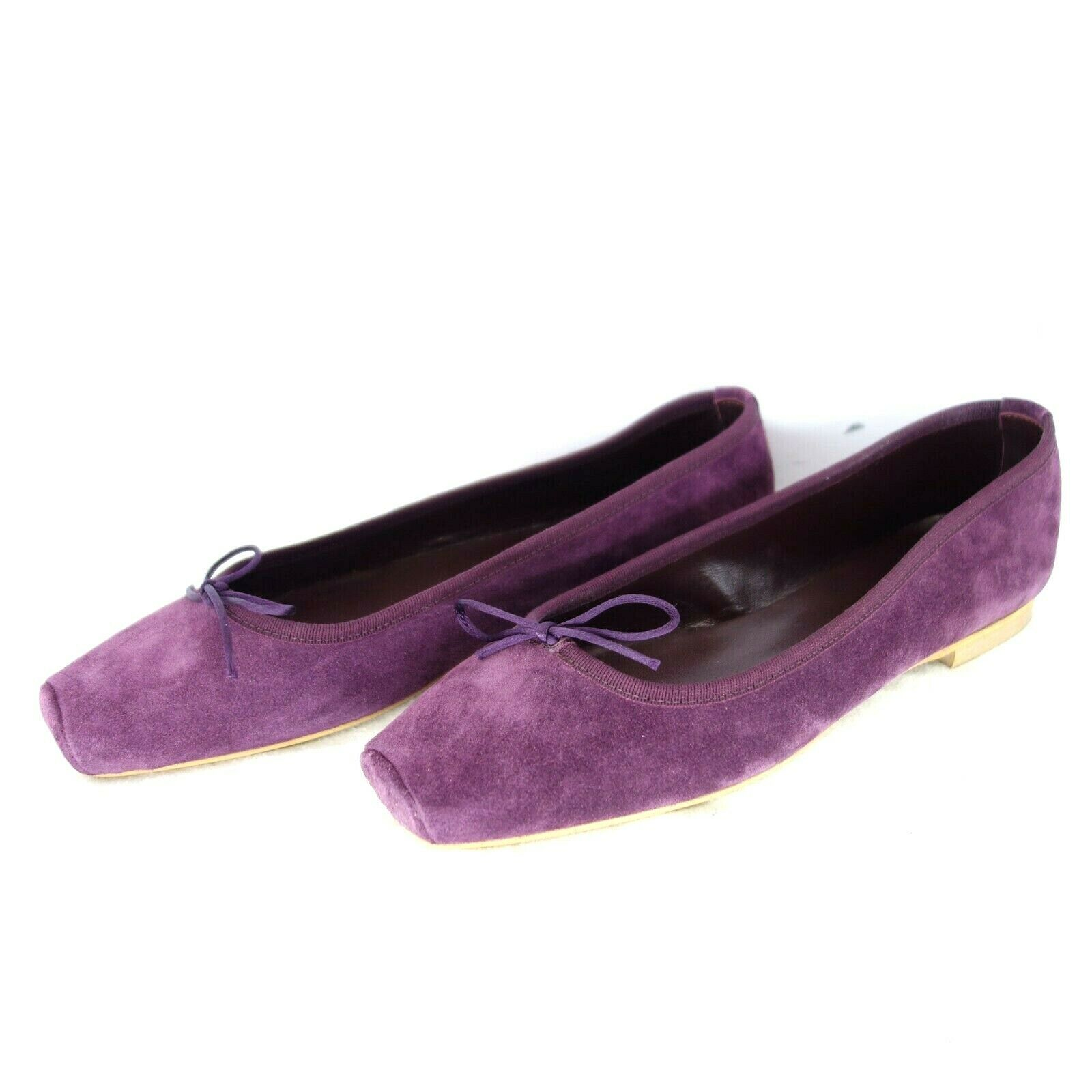 Paolo simonini boots women ballerinas 36 42 suede leather tie np 169 new