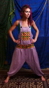 Genie Alibaba Dungarees Baggy Jumpsuit Hippy Harem Pant Overall Cotton Ethnic