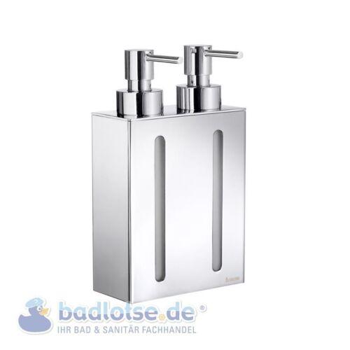 Smedbo Outline brillant stand-Distributeur de savon 2 positions double de savon support fk258