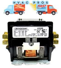Double 2 Pole 30 Amp 120 volt Contactor Relay Siemens Furnas GE 61411 42AF15AF