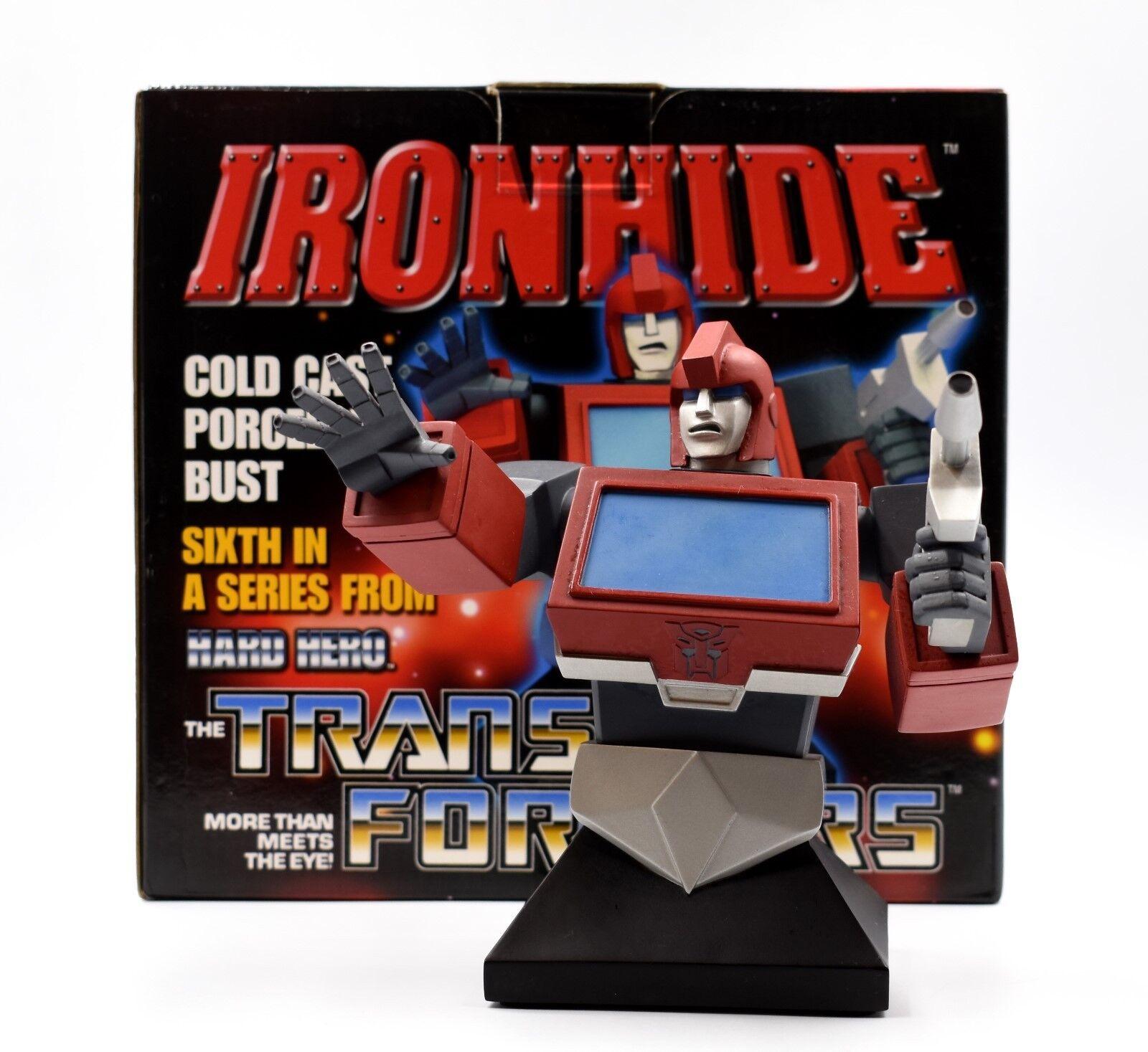La serie de TRANSFORMERS HARD HERO-Edición Limitada Ironhide busto