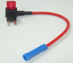 small blade fuse tap car fusebox connector with mini 10a fuse easy rh ebay co uk