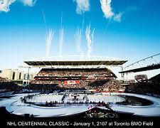 NHL Centennial Classic - BMO Field - Leaf vs Wings Jan 1, 2017, 8x10 Color Photo