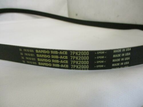 NEW BANDO RIB-ACE 7PK2000 RIB BELT 1/""