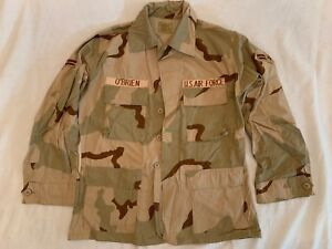 ffdfb65357db1 US Military Desert Camo Coat Medium USAF OBrien 8415-01-327-5308 ...
