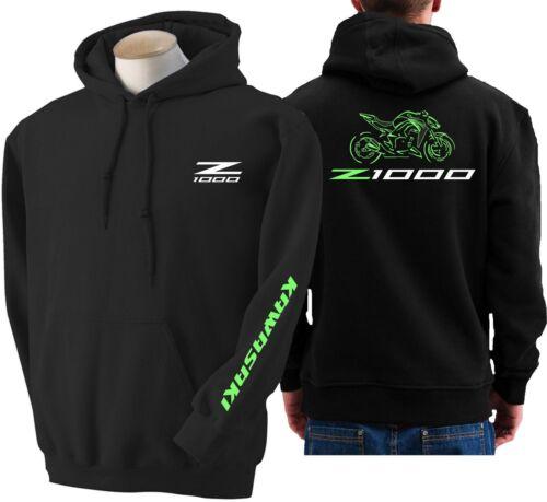 Hoodie for bike KAWASAKI z1000 sweatshirt hoody Sudadera moto Z 1000 2014-15